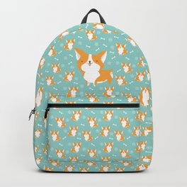 Sweet corgis pattern Backpack