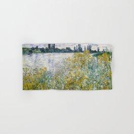 """Claude Monet """"Île aux Fleurs near Vétheuil"""" Hand & Bath Towel"""