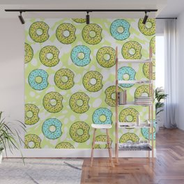 DONUTS AND DOTS DELICOUS DELIGHT Wall Mural