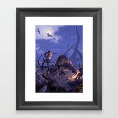 THE BEASTMASTER Framed Art Print