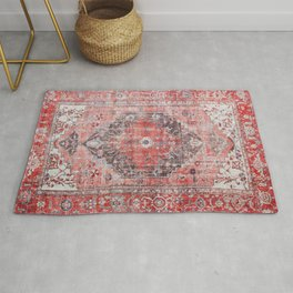 Vintage Anthropologie Farmhouse Traditional Boho Moroccan Style Texture Rug