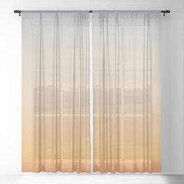Desert Shades Sheer Curtain