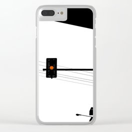 Traffic lights sequence Clear iPhone Case