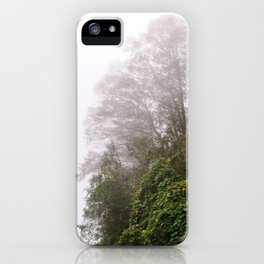 Cloud Forest iPhone Case
