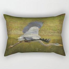 Silent Grace Rectangular Pillow