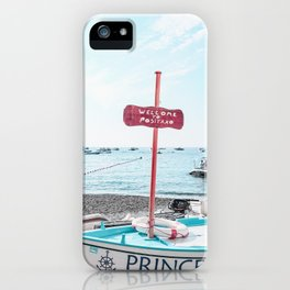 Welcome To Positano iPhone Case