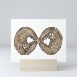 Infinity of Sloth Mini Art Print