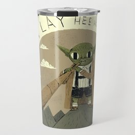 yodaling (grey colour option) Travel Mug