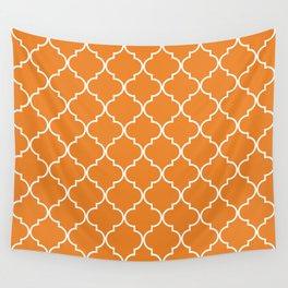 Quatrefoil - Apricot Wall Tapestry