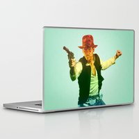 indiana jones Laptop & iPad Skins featuring Indiana Solo Variant R by Parissis