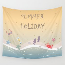 Summer Holiday Wall Tapestry