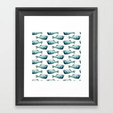 Watercolour Fish I Framed Art Print