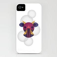 Vaca Burbuja iPhone (4, 4s) Slim Case