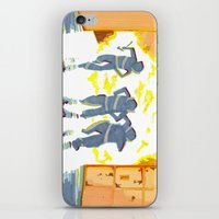 heroes iPhone & iPod Skins featuring Heroes by SquidInkDesigns
