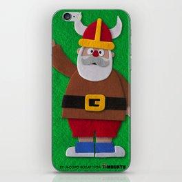 Funny Santa Claus! iPhone Skin