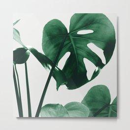 Monstera Vibes #1 #minimal #green #decor #art #society6 Metal Print