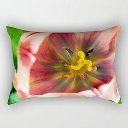 Pink Tulip #2 Rectangular Pillow