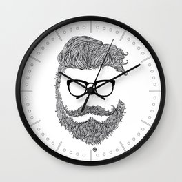 Fuck You N**d Wall Clock