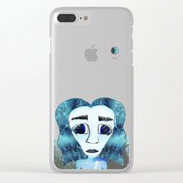 Planet Aquarius Clear iPhone Case