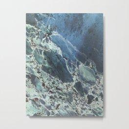 Water Marble Metal Print