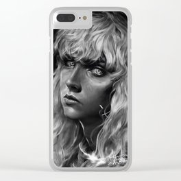 The White Hawk Clear iPhone Case