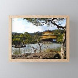 Kinkaku-ji Framed Mini Art Print