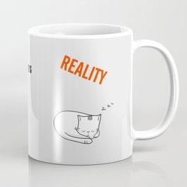 Youtube Cats vs Reality Coffee Mug