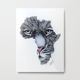 Africa's Heartbeat Metal Print
