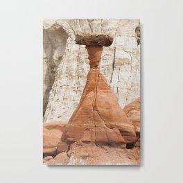 Hoodoo rock formation from Utah Metal Print