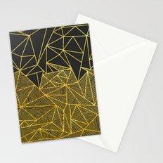 Bullion Rays (gold) Stationery Cards