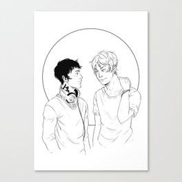 Kit & Ty Canvas Print