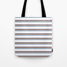 Cool Stripes Tote Bag