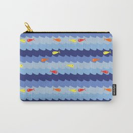 Fish fishing for friends Carry-All Pouch