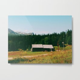 Up in the North Metal Print