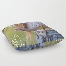 Waiting for Summer Floor Pillow