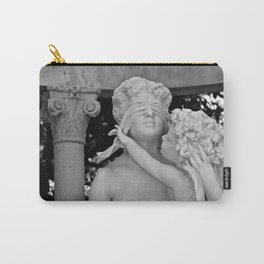 Marble Blindfold Carry-All Pouch