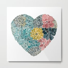 Rooted in Love No.1 Metal Print