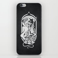 tarot iPhone & iPod Skins featuring Death Tarot by imadamspivak