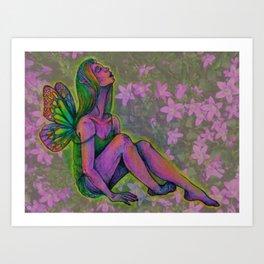 tiny faerie Art Print