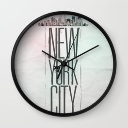 My City Wall Clock