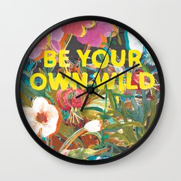 Be Your Own Wild Wall Clock