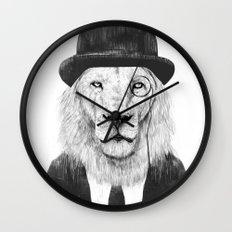 Sir lion Wall Clock