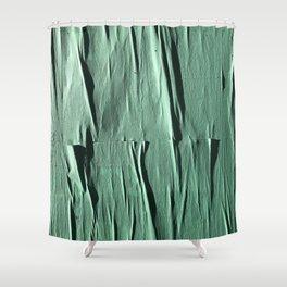 NYC Walls (zelen v.2) Shower Curtain