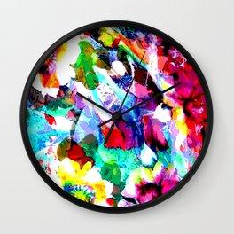 My flowers Wall Clock