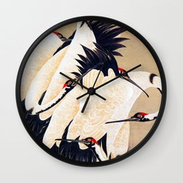 cranes - Digital Remastered Edition Wall Clock