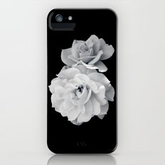 Black and White Roses iPhone (5, 5s) Slim Case