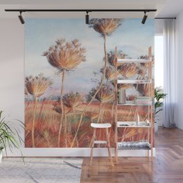 Queen Anne's lace_pastel art Wall Mural