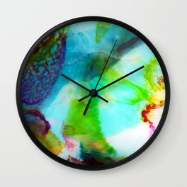 Big Blue ii Wall Clock