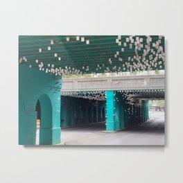 Mystic Bridge (in color) Metal Print