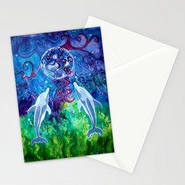 Dolphin Gaze Stationery Cards